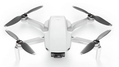 Photo of Mavic Mini Camera Resolution